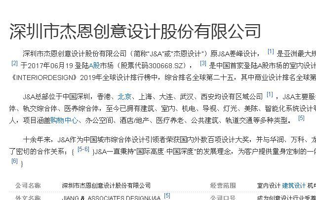 深圳市杰恩创意设计股份有限公司品牌推广